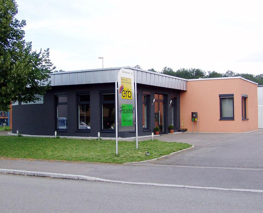 Neubau Malerwerkstätte Erb