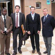 Stöckle zu Besuch an der Elfenbeinküste