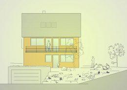 Neubau Einfamilienhaus Linsenhofen
