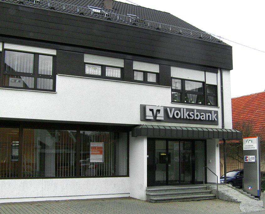 Umbau Volksbank Grafenberg