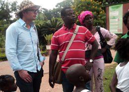 Stöckle zu Besuch im Kongo