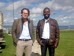 Besuch Kongolesen in Deutschland