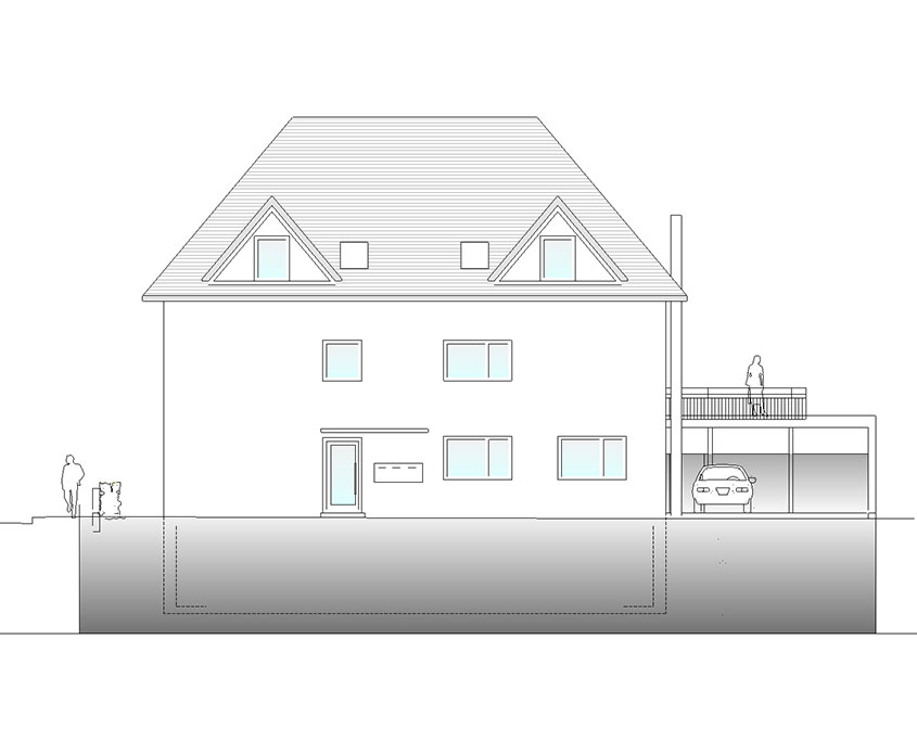 Neubau Mehrfamilienhaus Frickenhausen
