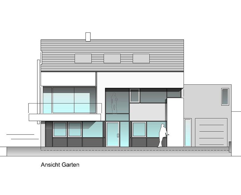 Neubau Einfamilienhaus Frickenhausen