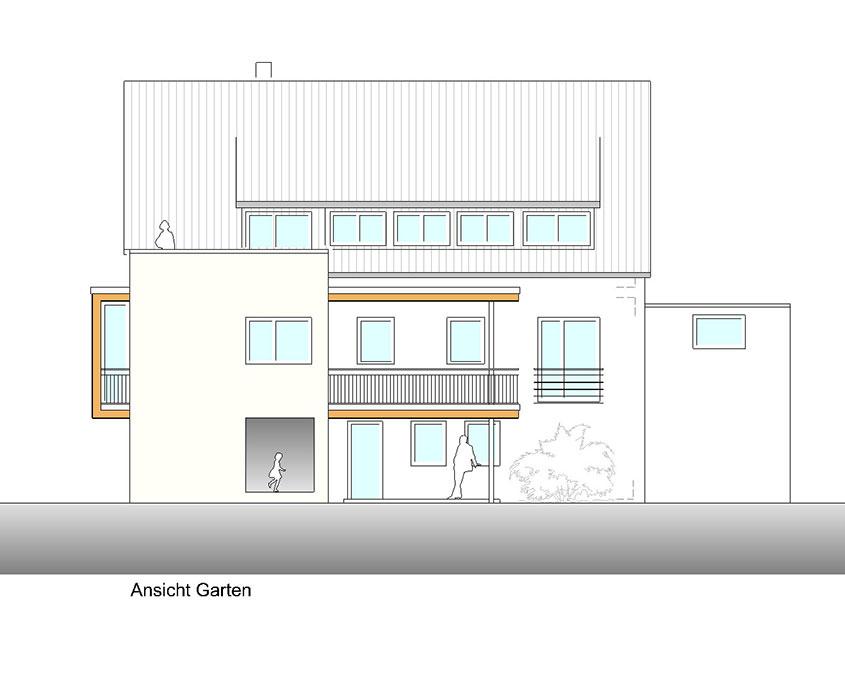Neubau Wohnhaus Nürtingen