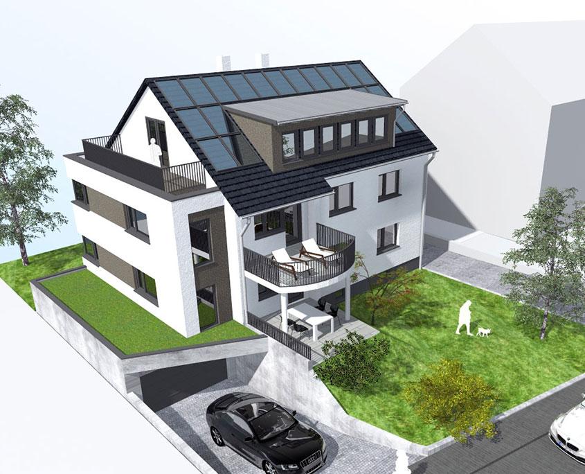 Umbau Sanierung Mehrfamilienhaus Nürtingen