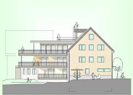 Mehrfamilienhaus Frickenhausen Ansicht