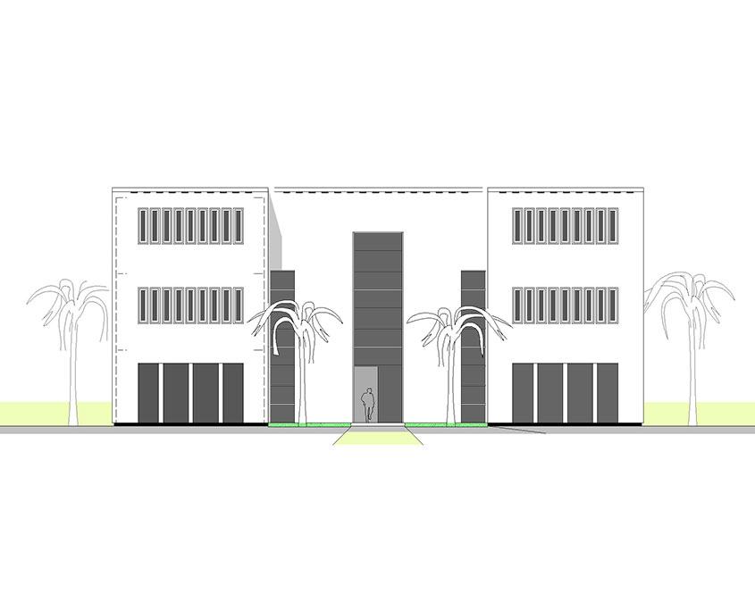 Verwaltungsgebäude Qatar