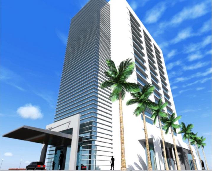 Hochhaus Kinshasa Kongo