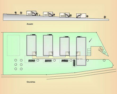 Neubau Gemeinschaftsunterkünfte Landkreis Esslingen